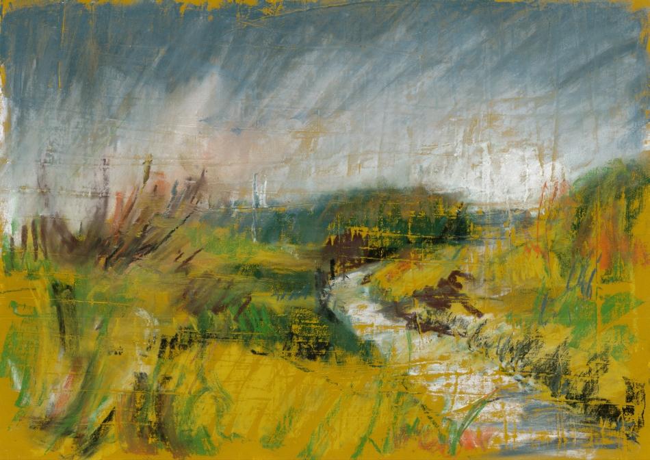 1991-09_Dünen bei Graal-Müritz_420x300_Pastell