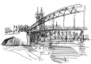 Sternbrücke und Dom