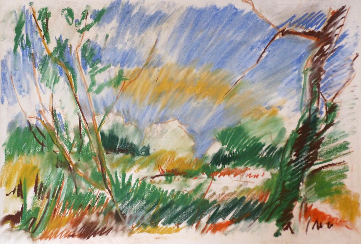 24_1997-08-24_MD_Am alten Schleusenbecken_590x420_Pastell